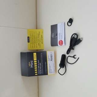 Jabra Bluwtooth earphones.