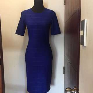 Dorothy perkins bodycon blue dress