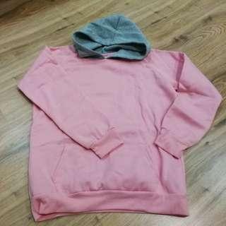 preloved pink hoodie