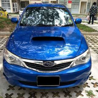 Car for rent - Subaru Impreza 5d