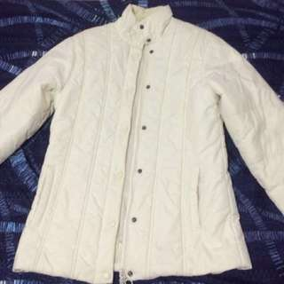 White Winter Thermal/Bubble Jacket