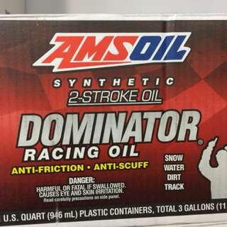 美國2T比賽冠軍油 amsoil 2T 二行程 蓖麻油