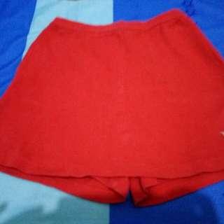 Hot pants skirt+tank top