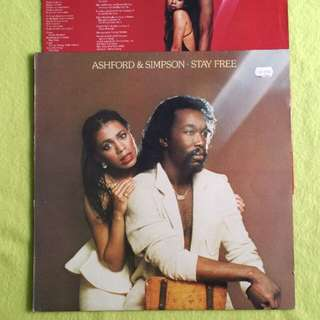 ASHFORD & SIMPSON. stay free. Vinyl record