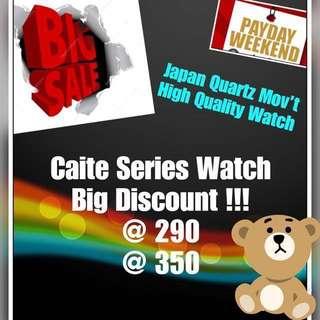 Authentic Caite Series Watch