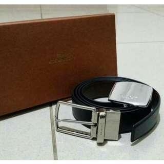 Coach Belt ( 2 belt buckle )