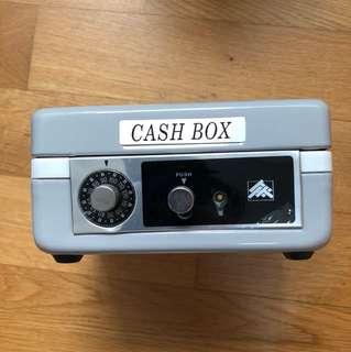 Popular cash box with combination lock