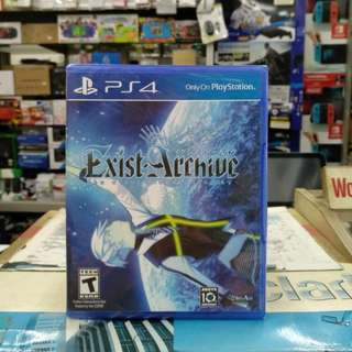 🆕 PS4 Exist Archive