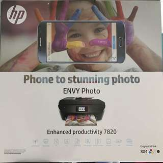 Hp Printer Envy Photo 7820 All-in-one
