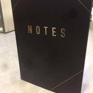 Kikki k Notes book