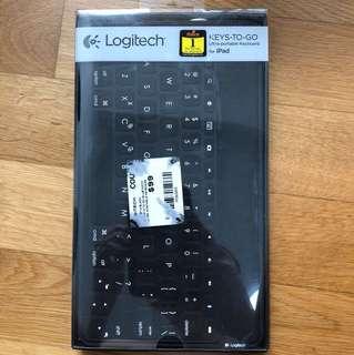 Logitech keys to go iPad Bluetooth keyboard