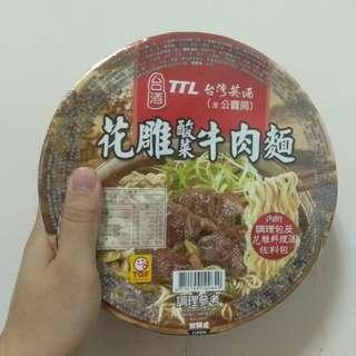 🚚 【台酒TTL】 花雕酸菜牛肉麵 泡麵