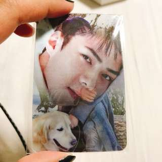 Sehun Nature Republic Lenticular 3D Photocard