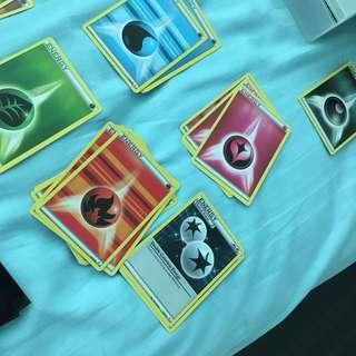 Pokemon Energy Cards