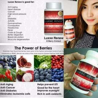 LUXXE RENEW 8 BERRY EXTRACT Anti-Aging & Weight Loss