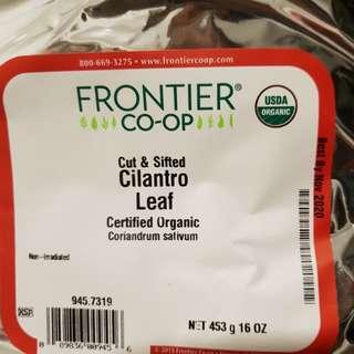 Organic Cilantro Leaf (Frontier Naturals brand)