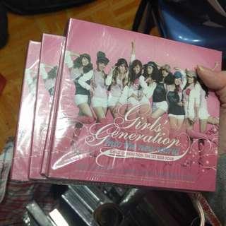 少女時代1st Aisa tour DVD