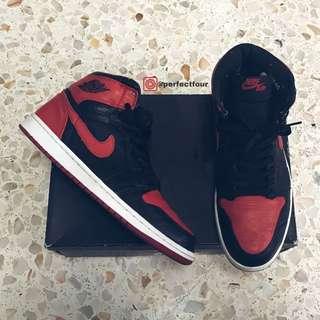 Air Jordan 1 Black Red Banned X
