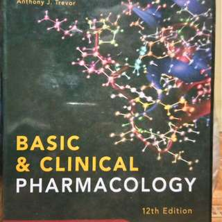 Katzung Basic and Clinical Pharmacology 12th Ed.