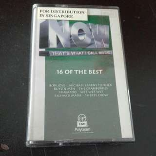 Now- That's What I Call Music Cassette