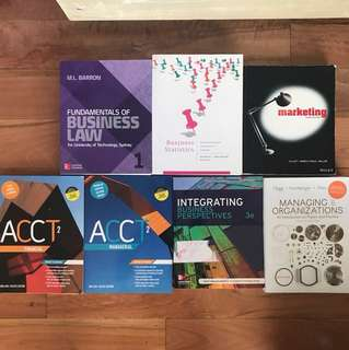 UTS 1ST YEAR BUSINESS TEXTBOOKS