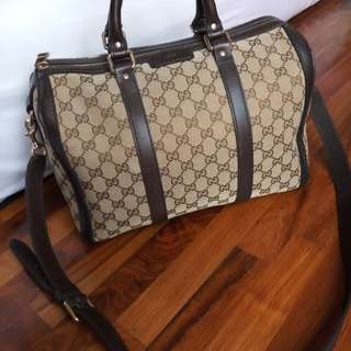 Tas gucci boston original authentic 100%