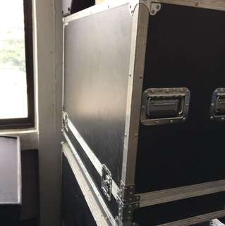 Flight case for moving head (pair)