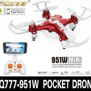 WIFI FPV Mini Pocket Drone Quadcopter