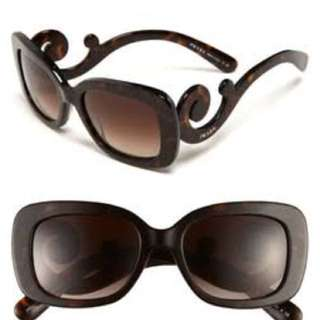 Prada baroque eye glasses