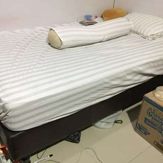 Spring bed 120x200 plus dipan