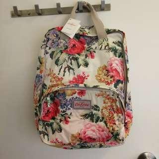 Cath Kidston floral waterproof backpack