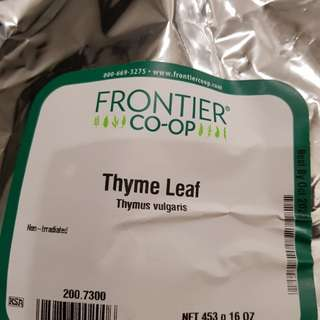 Thyme (Frontier Natural Products)