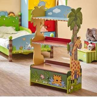 Safari Theme Bookshelf