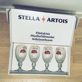 Stella Artois collectors glasses