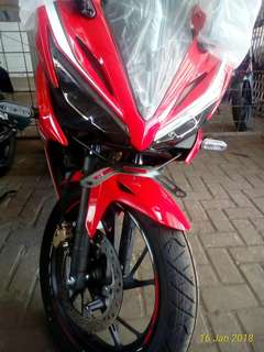 NEW HONDA CBR 150 RED ( dp 2.6 juta )