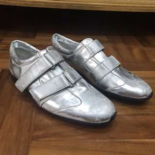 Gucci GG Velcrow Silver