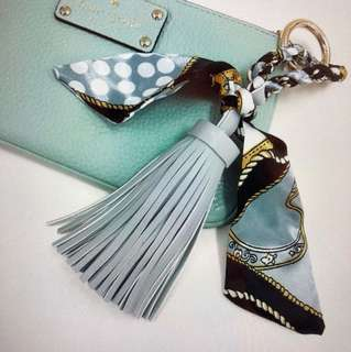 Tassel keychain for purse and bags