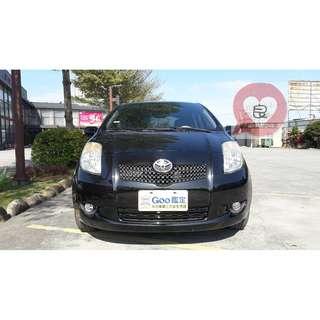 認證一手車  2008年 黑色 YARIS  G版  1.5   里程 108431 因為前車主 換休旅車 所以忍痛割愛