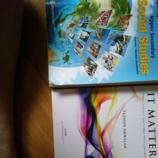 upper sec books