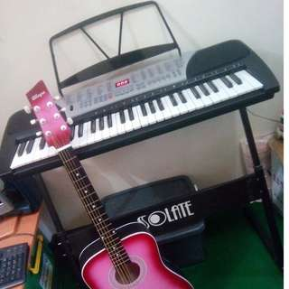 REPRICED!! Electric Keyboard with Stand