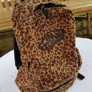 Vans Leopard print backpack