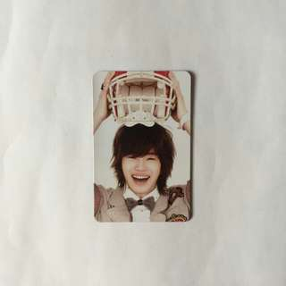INFINITE INSPIRIT SUNGJONG PHOTOCARD