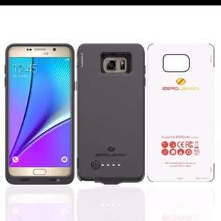 Zerolemon 8500mAh battery case for Samsung note 5