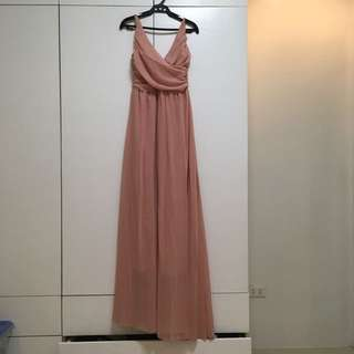PINK LONG DRESS/GOWN