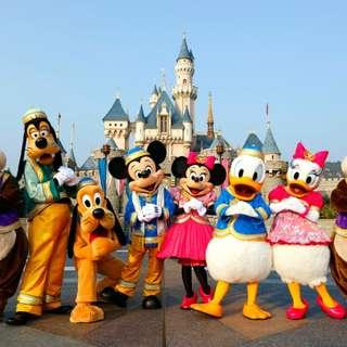 Hong Kong Disneyland Tickets for 2 (valid from Feb 8 till Feb 15, 2018)