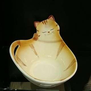 100%全新日本熱賣貓碗