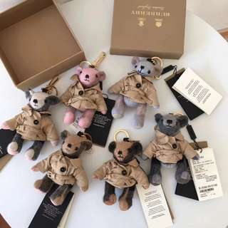 AUTHENTIC BURBERRY BEAR KEY CHAIN