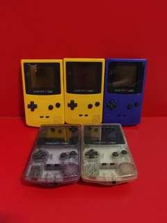 Nintendo gameboy colors