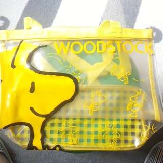 Woodstock 初版手偶(HALLMARK出品)連一透明袋2款