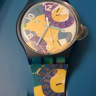 Swatch 羊年紀念錶 year of goat watch